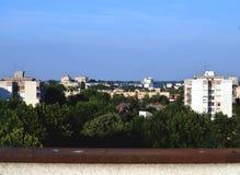 Sjenjak. Beautiful neighbourhood in Osijek, Croatia Royalty Free Stock Image