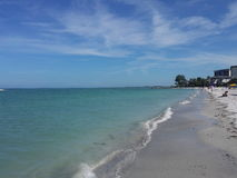 Sjesty plaża Fotografia Royalty Free