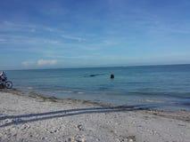 Sjesty plaża Zdjęcie Stock