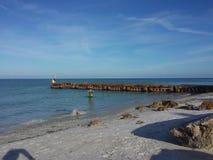 Sjesty plaża Obrazy Royalty Free