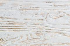 Sjofel wit geschilderd houten textuurclose-up als achtergrond royalty-vrije stock fotografie