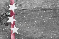 Sjofele elegante Kerstmisachtergrond in grijs, wit en rood Royalty-vrije Stock Afbeelding