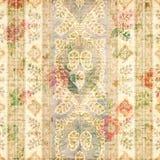 Sjofele Elegante uitstekend nam bloemen grungy achtergrond toe Royalty-vrije Stock Foto