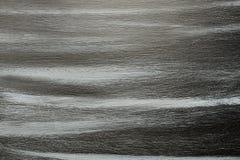 Sjofele geschilderde zwarte en blauwe raad Royalty-vrije Stock Afbeeldingen