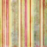 Sjofele gestreepte textuur Stock Afbeelding