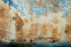 Sjofele verf en pleisterbarsten Royalty-vrije Stock Fotografie