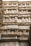 Sju berättelser ner som väl klivas av Patan Royaltyfria Bilder