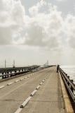 Sju mil bro i de Florida tangenterna Royaltyfria Foton