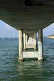 Sju mil bro i tangenterna Arkivbilder
