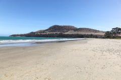 Sju mil strand - Hobart Tasmania Arkivbild