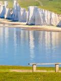 Sju systerkritaklippor, nationalpark för sju systrar Royaltyfri Fotografi