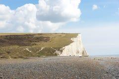 7 sju systrar, Brighton, England Fotografering för Bildbyråer