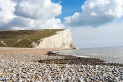7 sju systrar, Brighton, England Arkivbilder