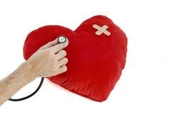 sjuk hjärta Arkivfoto