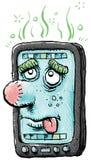 sjuk smartphone Royaltyfri Fotografi