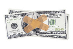 sjuka pengar Arkivbild