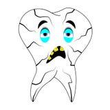 Sjuka tänder Royaltyfria Bilder