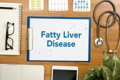 Sjukdom för fettig lever royaltyfria bilder