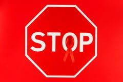 Sjukdombegrepp för HJÄLPMEDEL/HIV Royaltyfria Foton