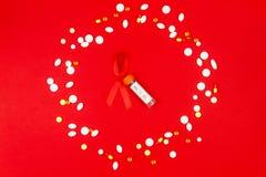 Sjukdombegrepp för HJÄLPMEDEL/HIV Arkivfoton