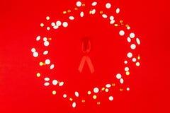 Sjukdombegrepp för HJÄLPMEDEL/HIV royaltyfri foto