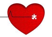 sjukdomhjärta Arkivbild