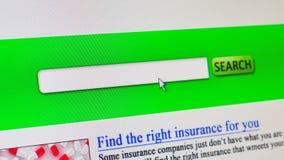 Sjukförsäkring - uppdiktat online-sökande arkivfilmer
