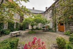 Sjukhus av den heliga spöken i Aalborg, Danmark Arkivfoto