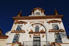 Sjukhus de la Caridad, Seville, Spanien. Royaltyfri Fotografi