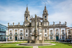 Sjukhus de São Marcos i Braga Portugal Royaltyfri Foto