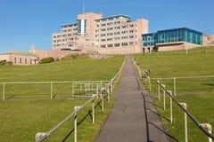 Sjukhus för rullgardinen Fotografering för Bildbyråer