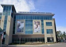 Sjukhus för Spence och Becky Wilson Baptist Children ` s arkivfoton