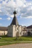 Sjukhus kyrkliga Euphemia av tusen dollar i den Kirillo-Belozersky kloster Royaltyfri Foto