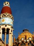 sjukhus sant pau för 19 barcelona Royaltyfria Bilder
