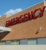 Sjukhusakutmottagningtecken Arkivbilder