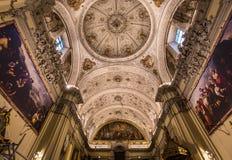 Sjukhusde la caridad kyrka, Seville, Spanien Royaltyfri Bild