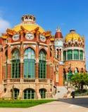 Sjukhusde-la Santa Creu I Sant Pau i Barcelona Royaltyfria Bilder