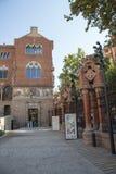 Sjukhusde-la Santa Creu I Sant Pau i Barcelona Royaltyfri Bild