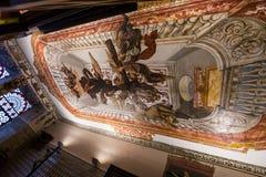 Sjukhusde los venerables kyrka, Seville, Andalusia, Spanien Royaltyfri Foto