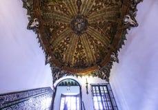 Sjukhusde los venerables kyrka, Seville, Andalusia, Spanien Royaltyfri Bild