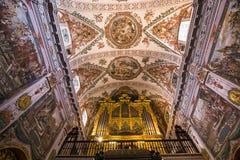 Sjukhusde los venerables kyrka, Seville, Andalusia, Spanien Royaltyfria Foton