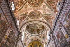 Sjukhusde los venerables kyrka, Seville, Andalusia, Spanien Arkivfoton