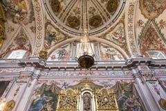 Sjukhusde los venerables kyrka, Seville, Andalusia, Spanien Fotografering för Bildbyråer