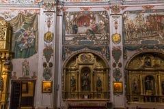 Sjukhusde los venerables kyrka, Seville, Andalusia, Spanien Royaltyfri Fotografi