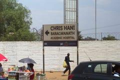 Sjukhusing?ng i Soweto royaltyfria bilder