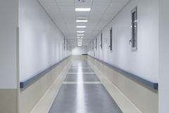 Sjukhuskorridor Fotografering för Bildbyråer