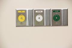 sjukhusproppar Arkivfoto