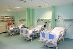 sjukhussalong arkivbild