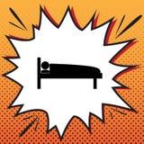 Sjukhusteckenillustration vektor Komikerstilsymbol på pop-konst royaltyfri illustrationer