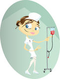 Sjuksköterska stock illustrationer